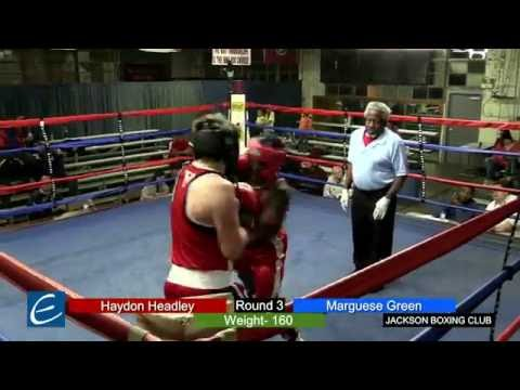 Jackson, Tn Boxing 25MAR2016 H Headley vs M Green
