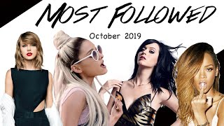Gambar cover Most Followed Artists October 2019 | FEMALE