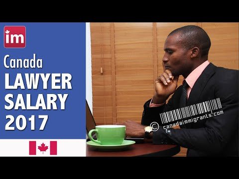 Lawyer Salary In Canada (2017) - Jobs In Canada
