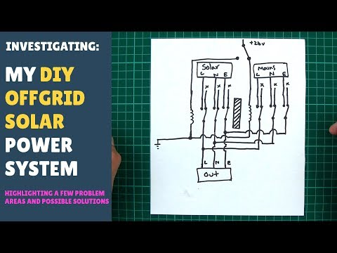 My DIY Offgrid Solar Power System (Current Problems & Possible Solutions) - Sep 2017