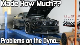 Dyno Tuning the 2007 Coyote Swap Mustang! *Issues Found on the Dyno..*