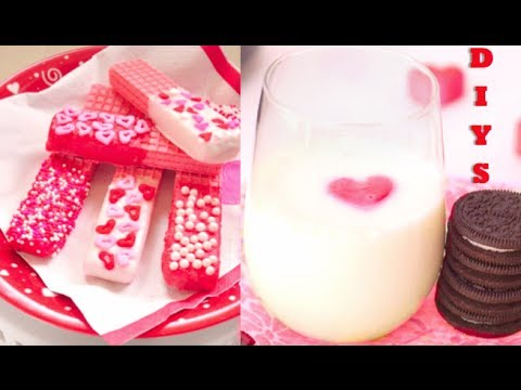 DIY Treats For Valentines Day!