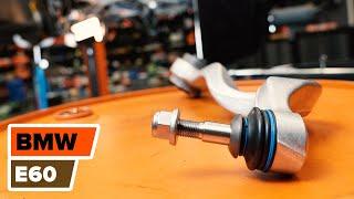 Cum se inlocuiesc braț suspensie roata din față pe BMW 5 E60 TUTORIAL | AUTODOC
