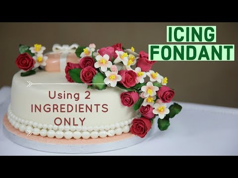 How To Make Icing Fondant Using 2 Ingredients Only