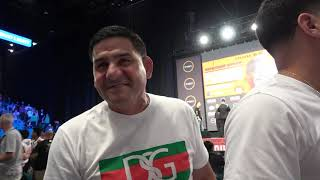 Danny Garcia & Angel Seconds After The Pacquiao vs Thurman Weigh In EsNews Boxing