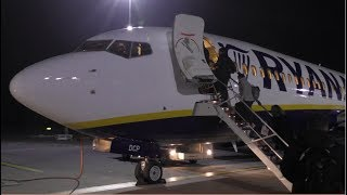Ryanair Boeing 737-8AS | FR2860 London Stansted to Luxembourg | Full Flight