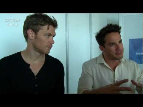 Michael Trevino & Joseph Morgan  in Monte Carlo 2012  HD 720P