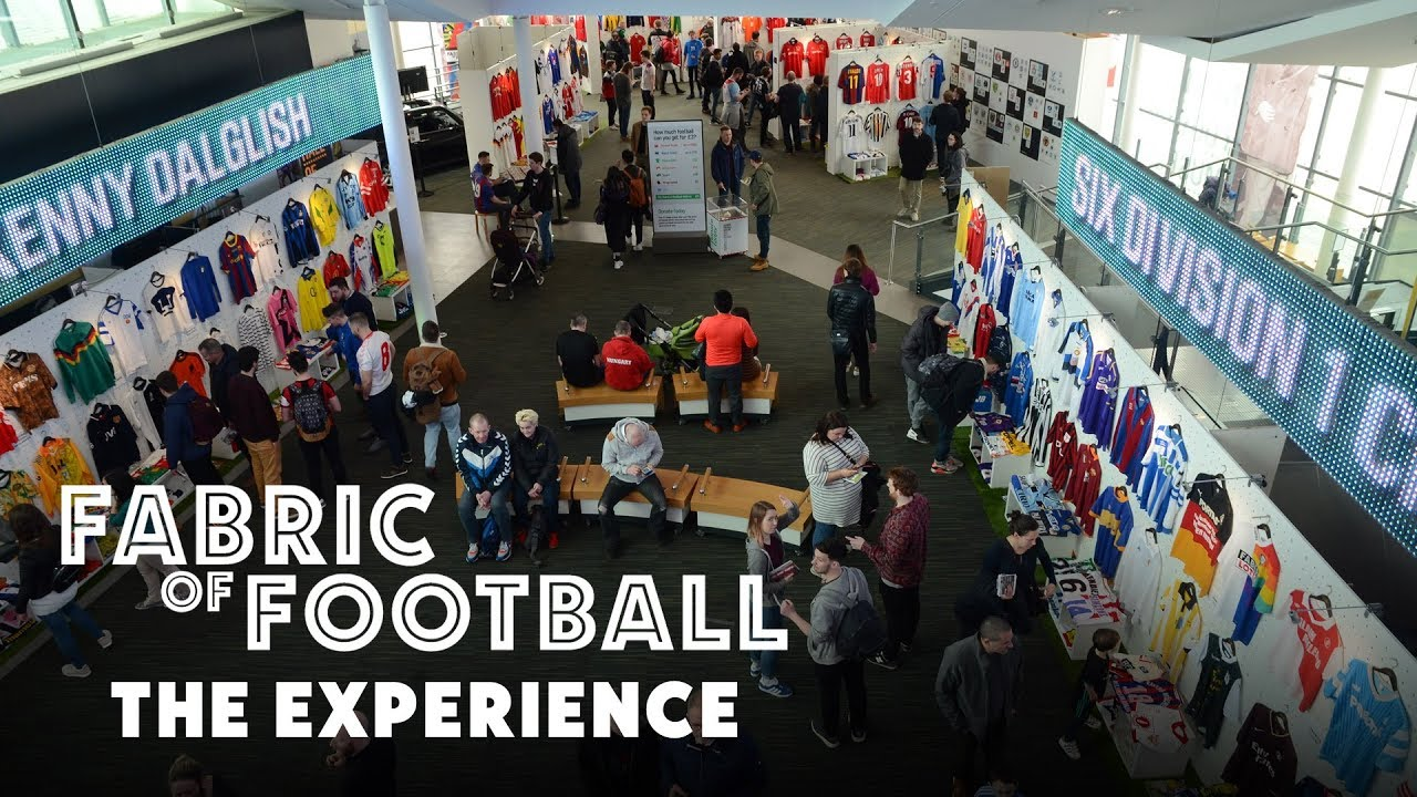 2a54b35522b Fabric of Football by Classic Football Shirts - The Experience - YouTube