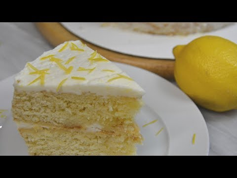 Lemon Cake With Buttercream Frosting Recipe | COLINary