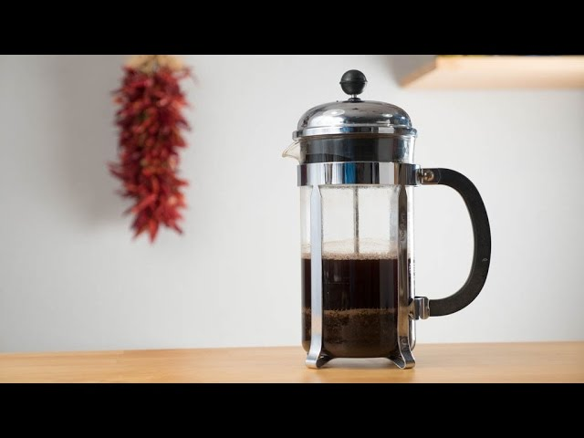 How To Make A French Press Coffee At