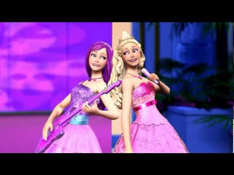 Barbie a Princesa e a Popstar - Trailer (Dublado) BR HD
