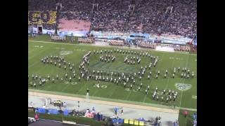 Marching band choreography