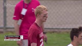 2017 College Championships: Men's Semi Carleton vs UMass
