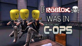 Operaciones críticas, pero es el sonido de la muerte de Roblox