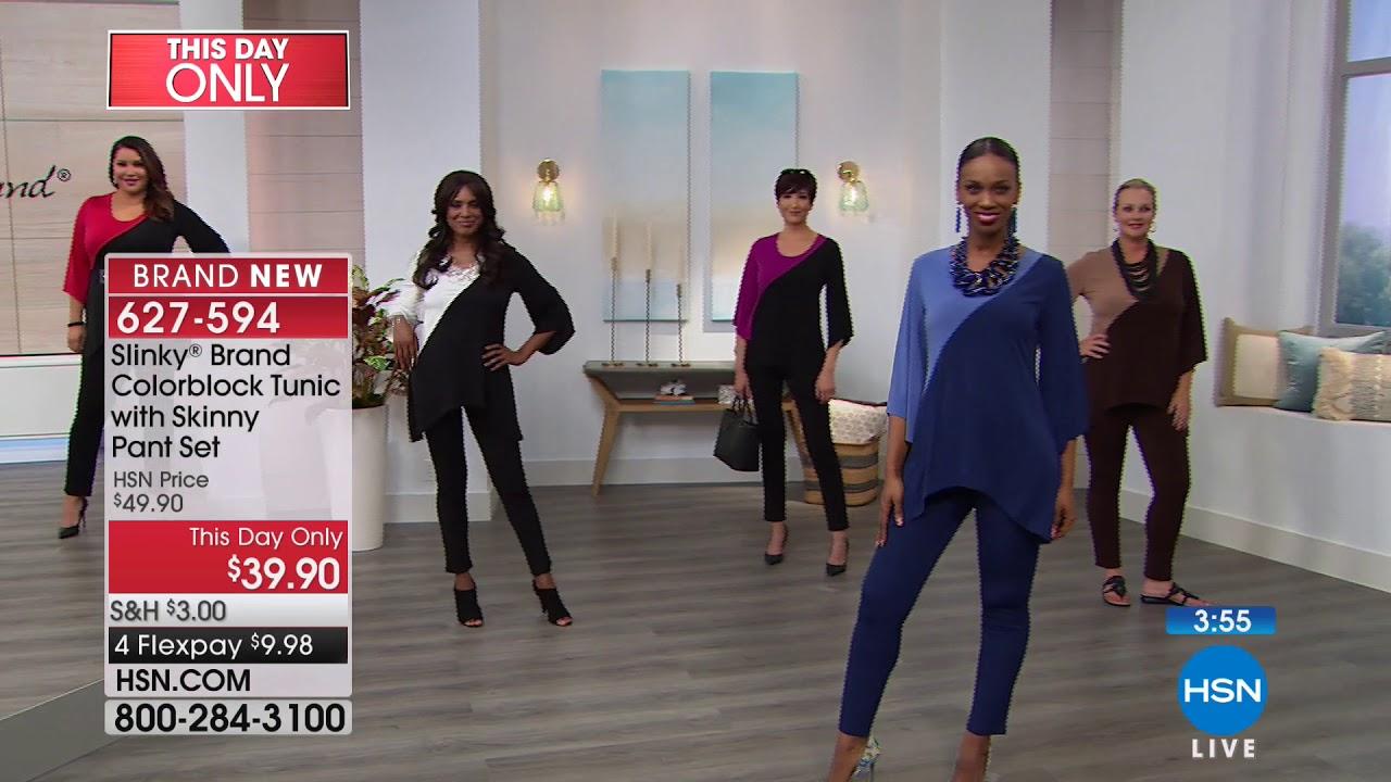 89798bb5351 HSN   Slinky Brand Fashions 08.12.2018 - 06 PM - YouTube