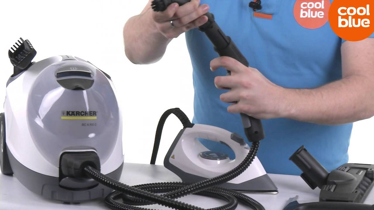 Karcher sc 4 100 cb stoomreiniger productvideo nl be for Karcher pulitore a vapore sc 5
