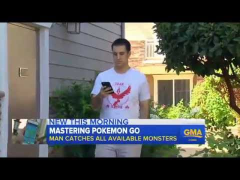 Brooklyn Pokémon Go Player Becomes The First Person In The US To - This pokmon go player is the first person to catch them all