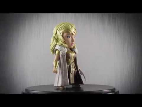 "Jada Toys Metalfigs - 4"" Queen Hippolyta (DC Comics)"