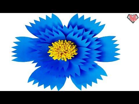 paper flower templates    Paper flower pattern    DIY paper giant flower tutorial    Flower backdrop