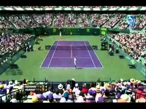 N.Djokovic vs A.Murray - Sony Open - Những pha bóng hay