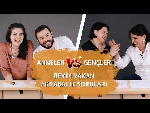 Gençler vs Anneler: Akrabalık Sorularını Kim Daha İyi Çözecek?