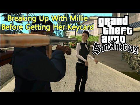 GTA San Andreas - Dumping Millie Before Getting Her Keycard