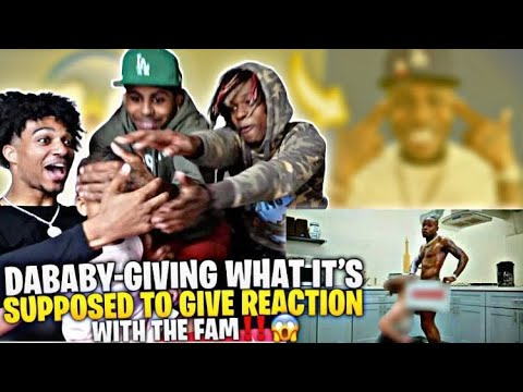 Download DaBaby - Giving What It's Supposed To Give [Official Video] REACTION!! WITH THE FAM‼️😱