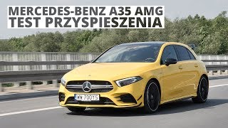 Mercedes-Benz A35 AMG 2.0 306 KM (AT) - acceleration 0-100 km/h
