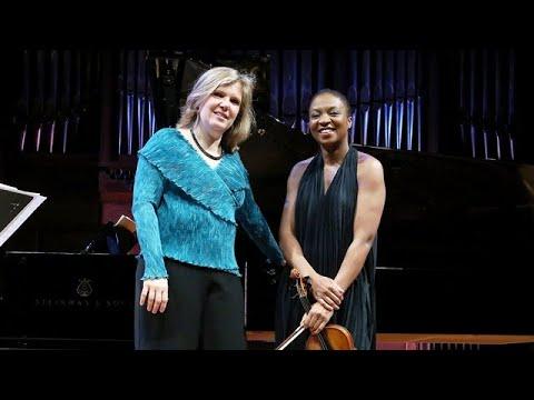 Philip Glass: Pendulum. John Corigliano: Sonata para violín y piano, por Tai Murray y Silke Avenhaus