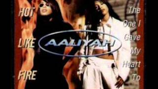 Aaliyah - Hot Like Fire (Timbaland