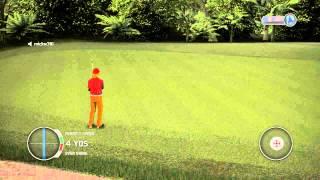 A Little Unfair...... Tiger Woods 14 (The Predator Course)