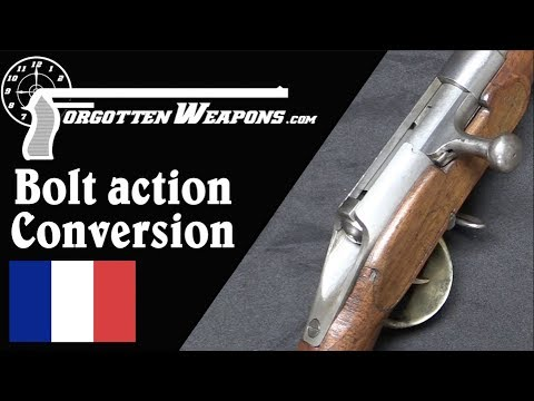 Bolt Action Cartridge Conversion of a French M1822 Rifle