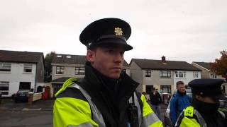 Gardai questioned on why they won`t allow the family leave.