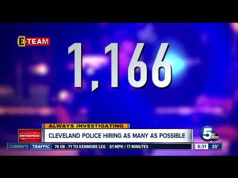 Cleveland Police hiring as fast as they can