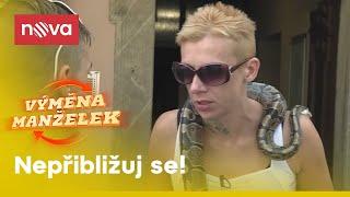 Výměna manželek - Mačkáš mi hada, debile!