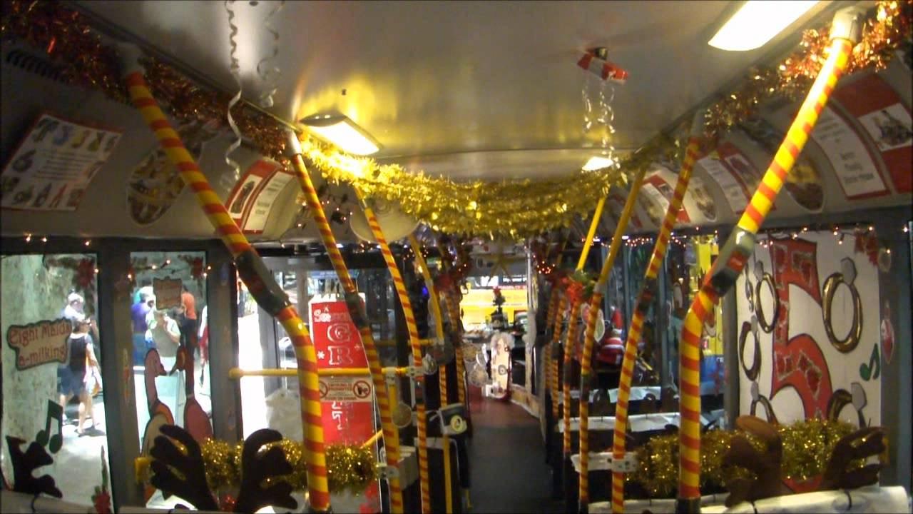 Brisbane Transport Christmas Buses 2011 - YouTube