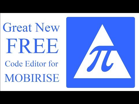FREE Code Editor For Mobirise