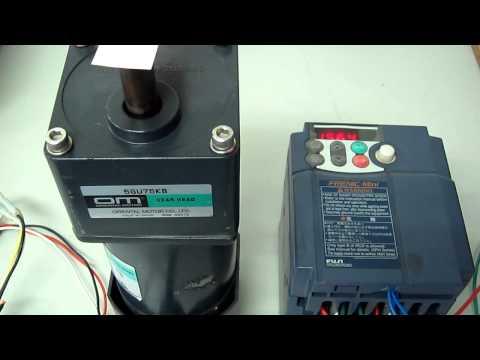 Fuji Electric FRN1.5C1S-2J INVERTER 動作確認
