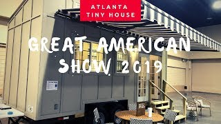 Atlanta Great American Tinyhouse Show 2019#tinyhouse#tinyhome#tinyliving#skoolie