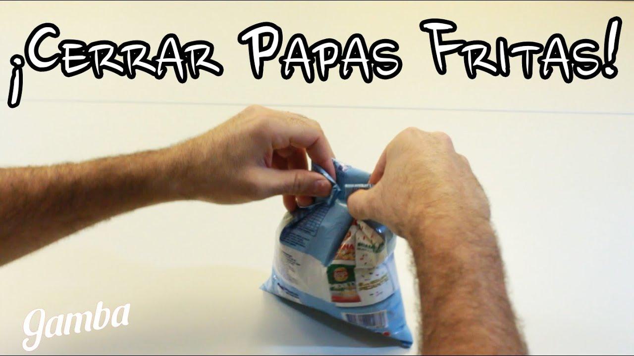 Cómo Cerrar Un Paquete De Papas Fritas Ideas Utiles Youtube