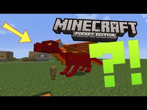 Драконы в Minecraft PE 0.1.6 0 Моды !?? (Minecraft Pocket Edition 0.16.0)