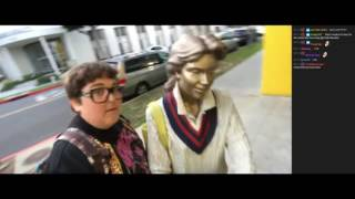 Andy: Statue Shenanigans