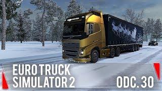 Biało i świątecznie! (Euro Truck Simulator 2 #30)
