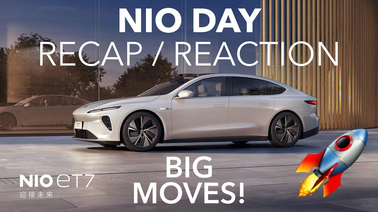 NIO Day 2021: Explained! ET7 Sedan, Battery Swap 2.0, Autonomy, & More | Nio's 4th Annual Big Event
