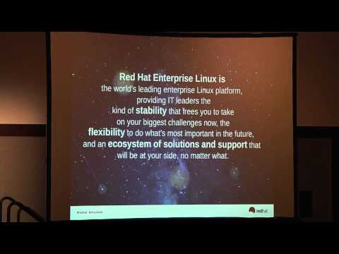 2013 Red Hat Summit: Red Hat Enterprise Linux: Foundation for an Open Hybrid Cloud