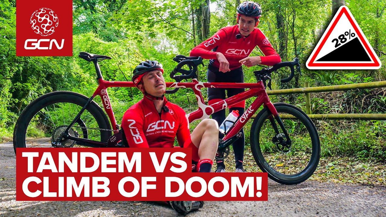 Download Tandem Vs Killer Climb | Hank And Si Take On The Wall Of Doom