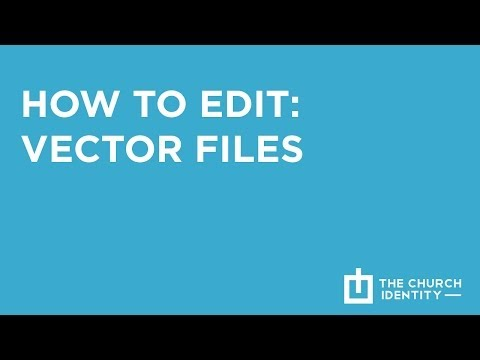 How To Edit Vector Files