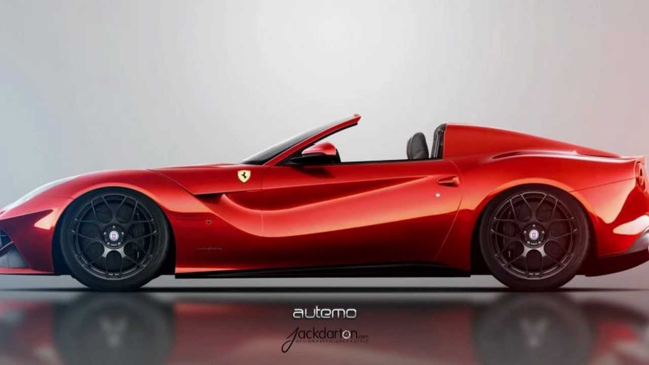 Ferrari F12 Convertible By Autemo