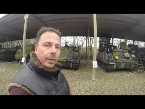 Actor Tino Struckmann visits Aalborgs Military and viking Museums and Bakers