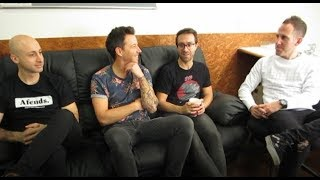 Simple Plan シンプル・プラン interview in Japan Part1 - Q&A from Japanese SPCrew